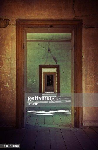 Old European castle interior : Stock Photo