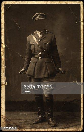 La posture du visage soldier : Photo