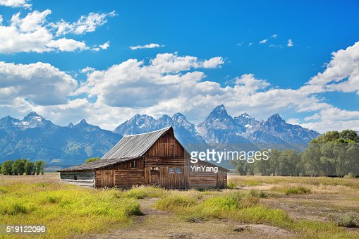 Old Farm edificio en parque nacional de Grand Teton
