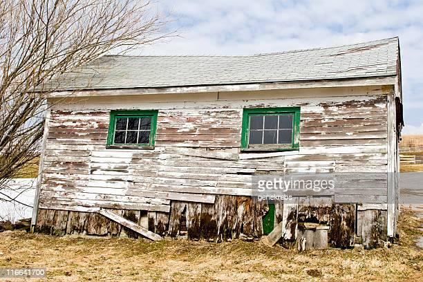 Old Farm remise au printemps.