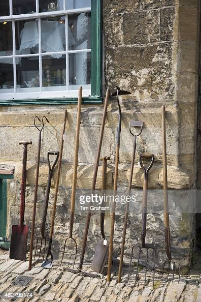 Antique tools on sale at burford in the cotswolds uk for Gardening tools on sale