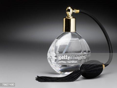 Old fashion perfume atomizer