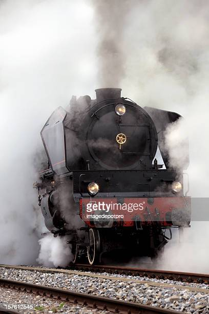 Old Fashion Steam Train