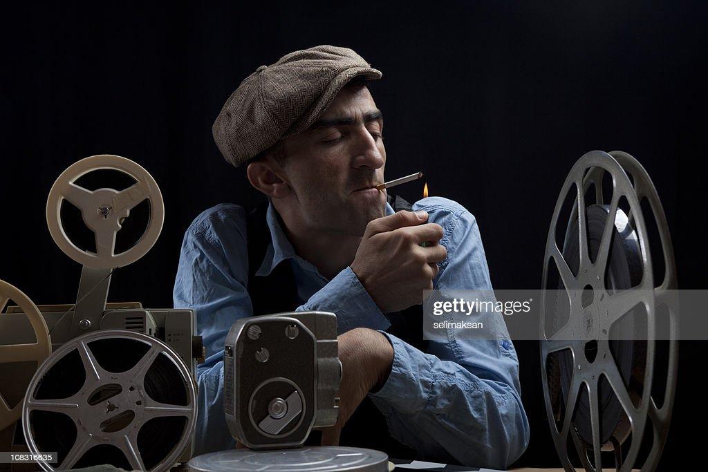 Old Fashioned Cinema Director
