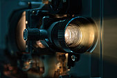 Old fashioned Film Projector