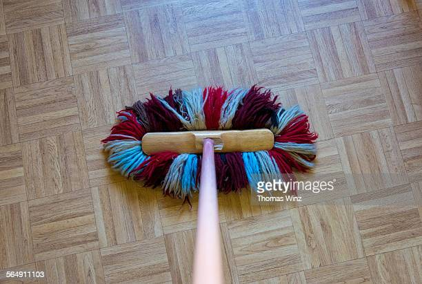 Old fashioned Floor duster