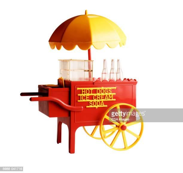 Old Fashioned Food Vendor Cart