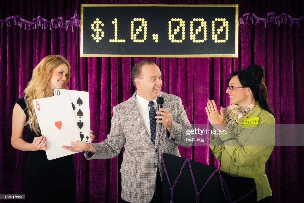 Old Fashioned Game Show : Stock Photo