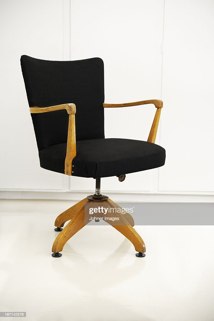 Old fashioned office chair