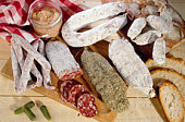 Old fashioned rustic foods