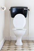 Old fashioned toilet