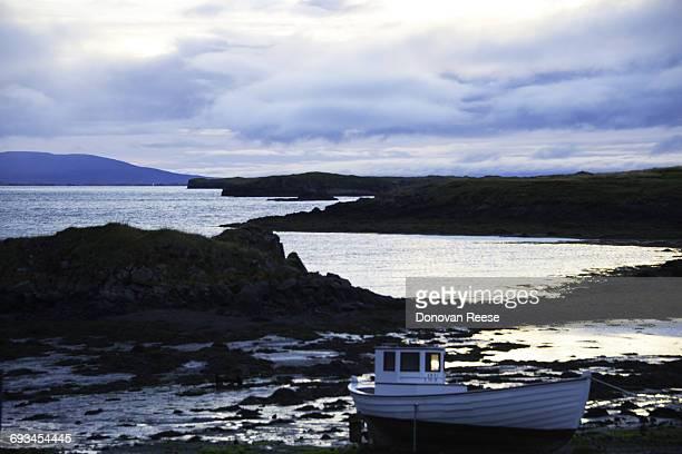 Old Fishing Boat, Stykkisholmur, Iceland