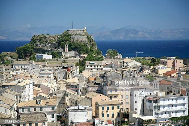 Old Fort und Korfu-Stadt