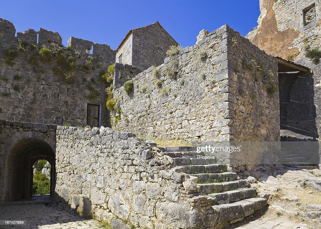 Old fort in Split, Kroatien : Stock-Foto