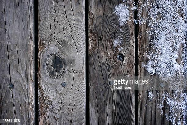 Old gefrorene Boards-Hintergrund