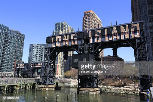 Old gantries and Long Island City