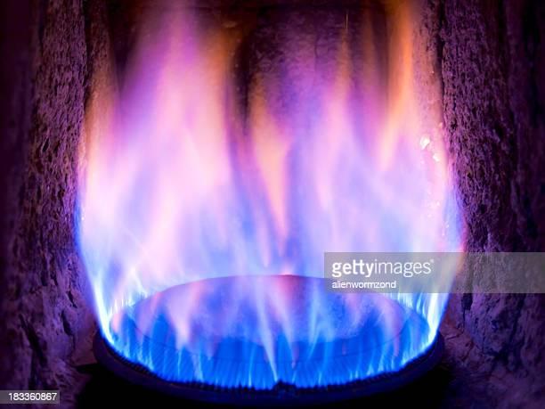 Old gas burner
