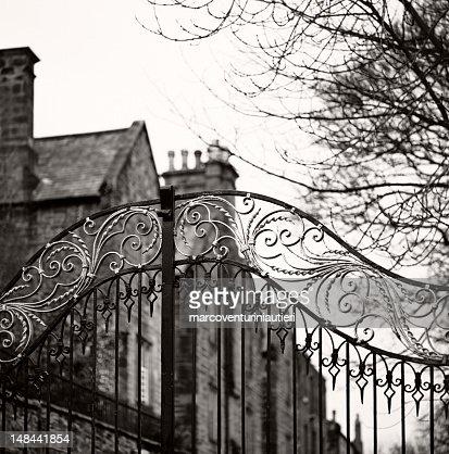 旧ゲート、ダラム的 Anglosaxon ゲート、クローズ邸