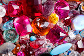 Old gem stones