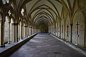 A Corridor in salisbury Cathedral