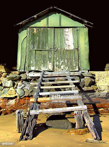 Old Green Boat Shed