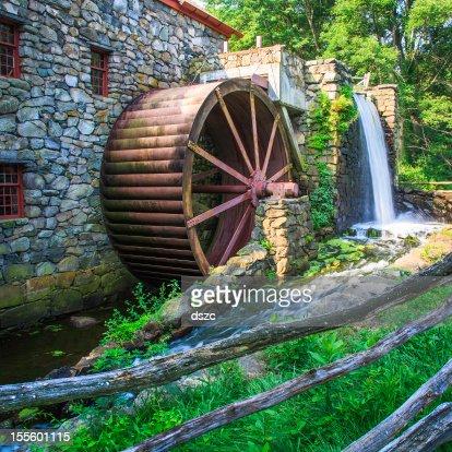 old gristmill waterwheel
