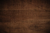 Old grunge dark textured wooden background,The surface of the old brown wood texture,top view copy space