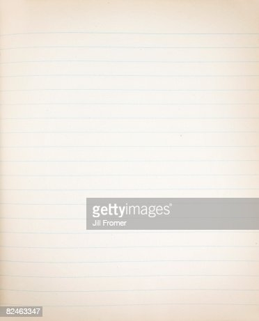 Old Grunge Lined Paper Background Stock Photo | Getty Images