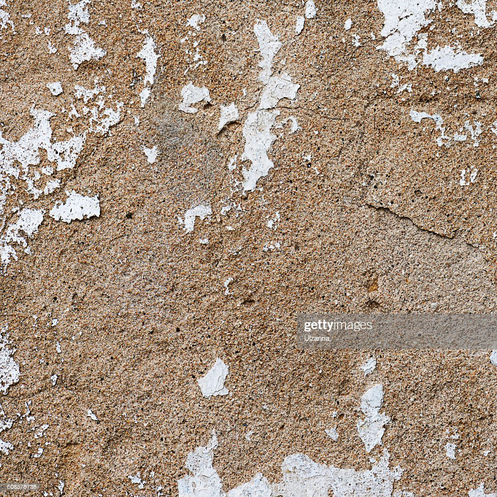 Old, grungy white background of natural plaster wall surface. : Stock Photo