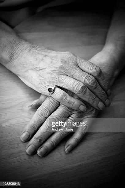 Vieille mains