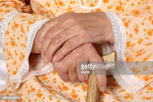 Old hands : Stock Photo