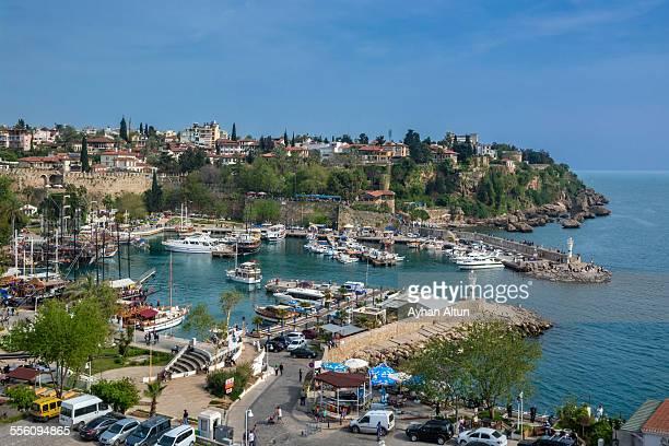 Old harbour of Antalya,Turkey