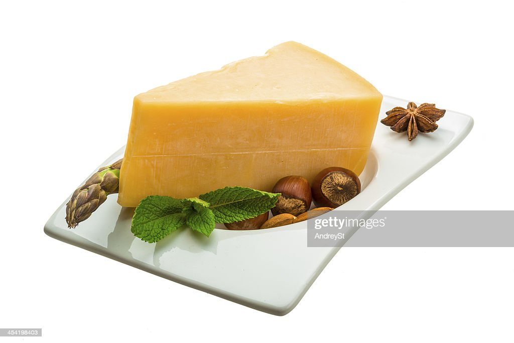Old hard cheese : Stock Photo