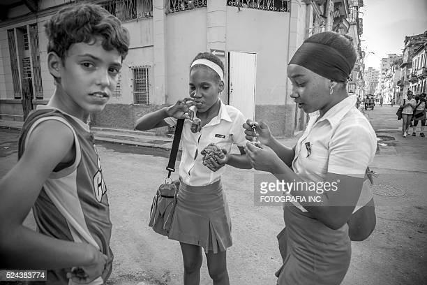 La Vieille Havane Rue scène