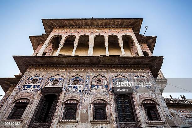 Old haveli in Mandawa Rajasthan India