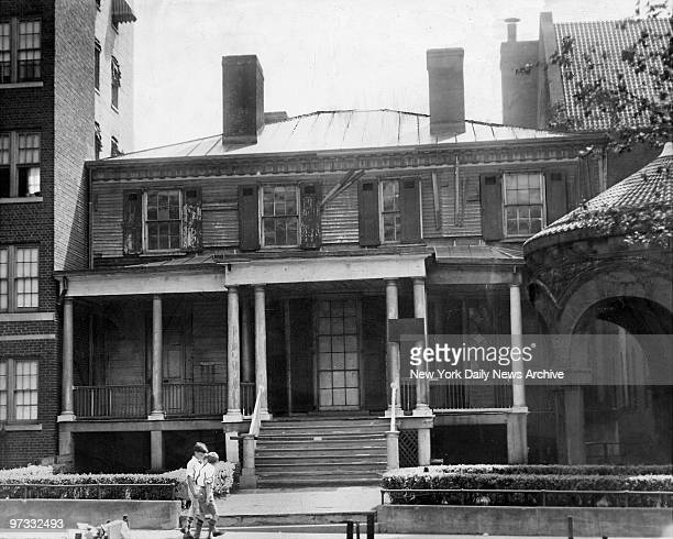 Old home of Revolutionary patriot Alexander Hamilton Hamilton Grange is at 141 St Convent Ave