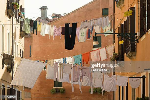 Old homes with Clotheslines in backyard of Venice (XXXL)