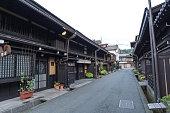 Old house at Takayama historical town in Japan