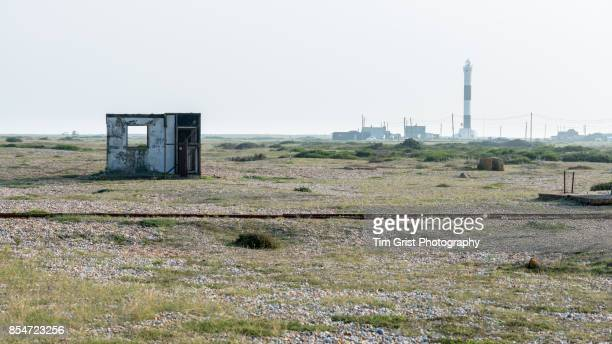 Old Hut and Lighthouse, Dungeness