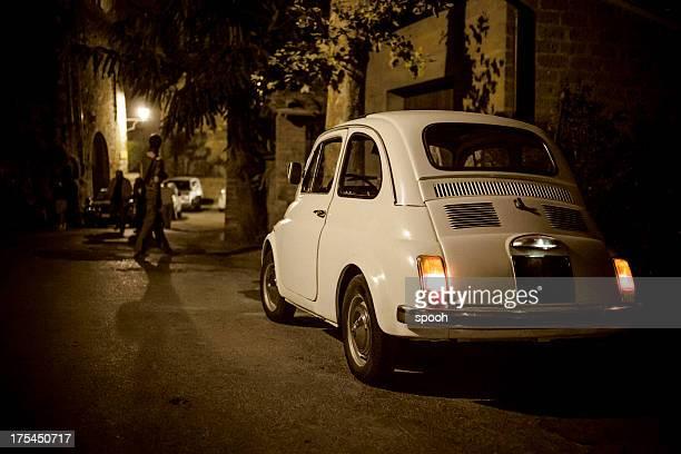 Alte italienische Auto-Fiat 500