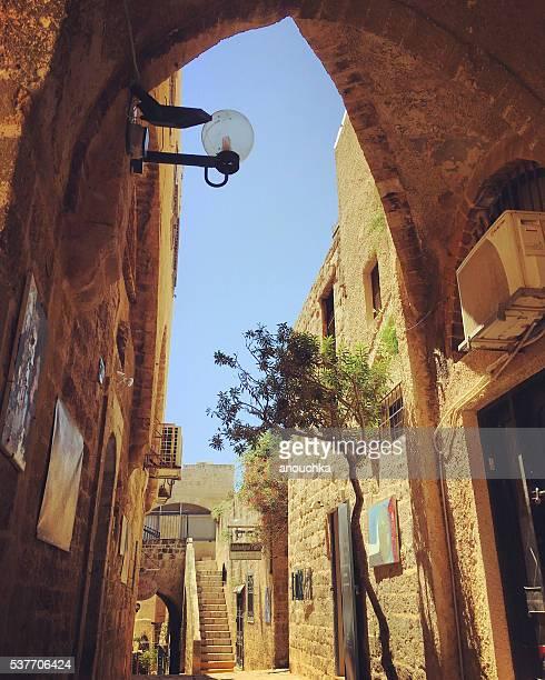 Altstadt von Jaffa Straßen, Tel Aviv, Israel