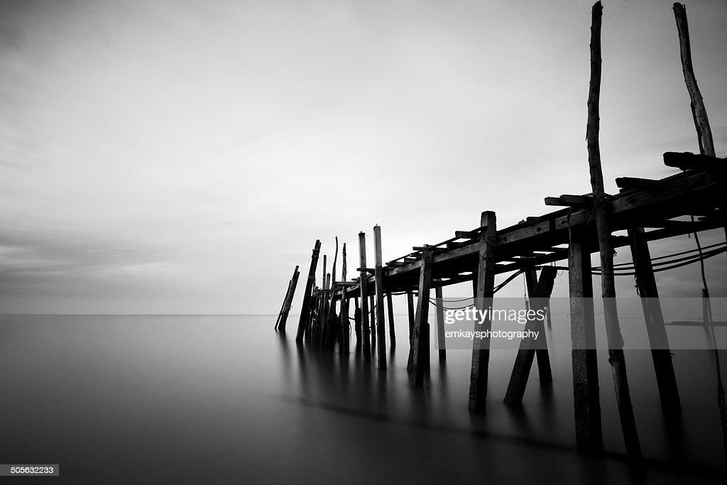 old jetty : Stock Photo