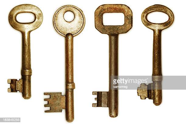 Old Keys (clipping paths)