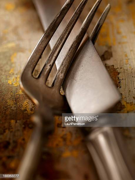 Old Knife and Fork