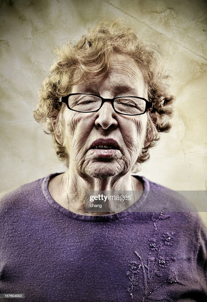 Old Lady : Stock Photo