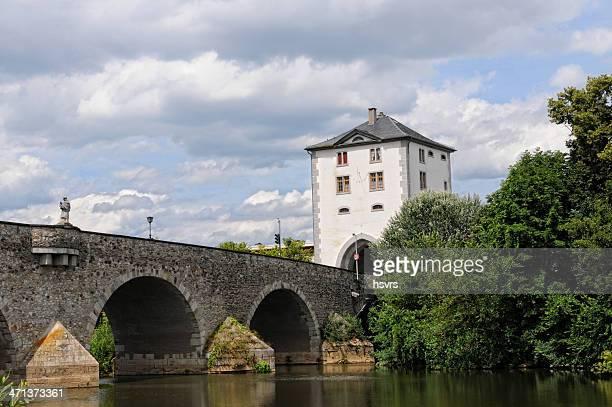 old Lahn River Bridge of Limburg (Hessen, Germany)