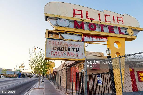 Old Las Vegas Motel Closed Business on Fremont Street