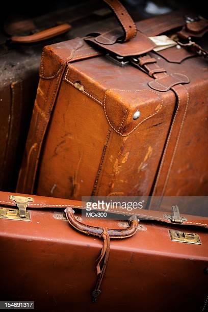 Alte Koffer aus Leder