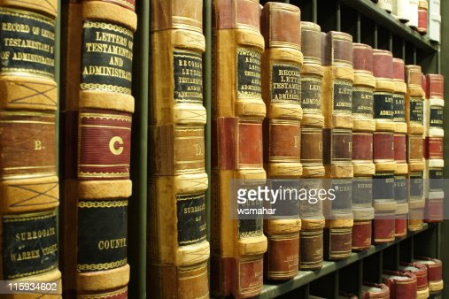 Old Legal Books