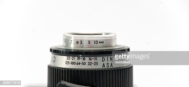 old lens : Stock Photo